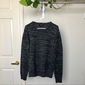 Express Comfy Heather Sweater